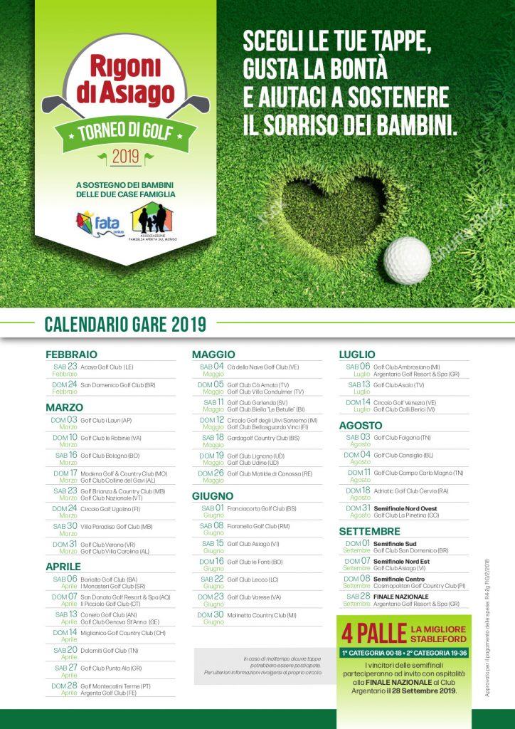 Acaya Golf Club Calendario Gare.Torneo Rigoni Di Asiago 2019 8a Edizione Al Via 39 Tappe
